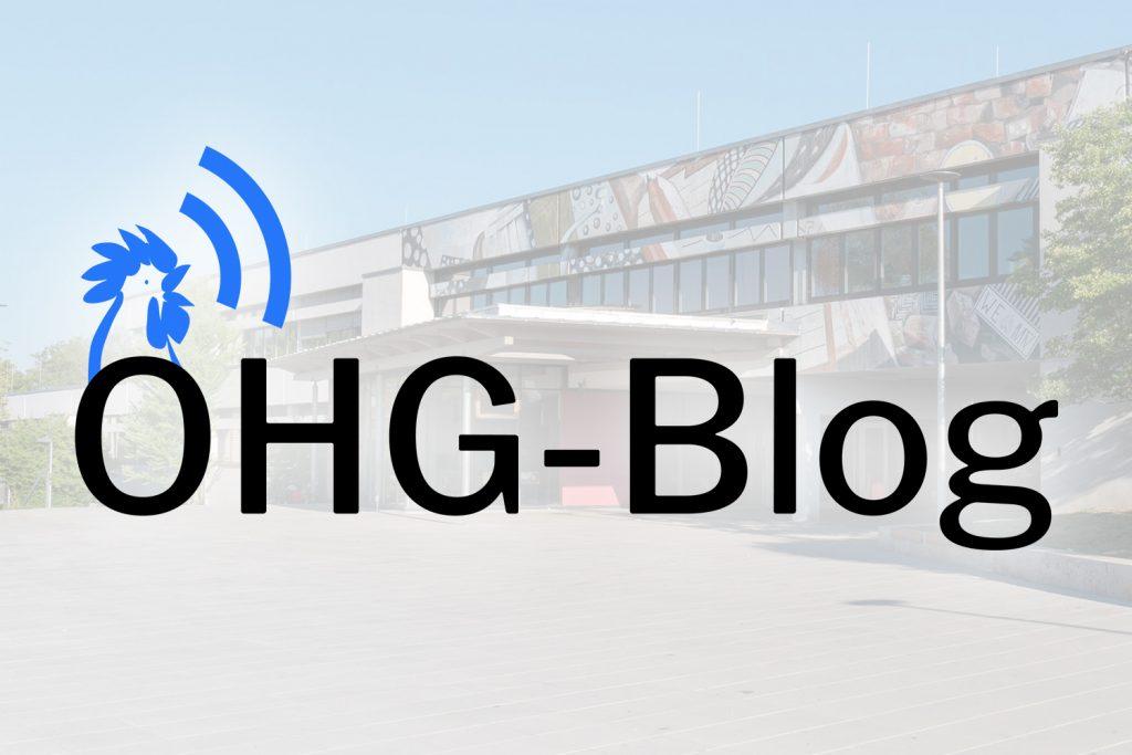 Der neue OHG-Blog ist da!