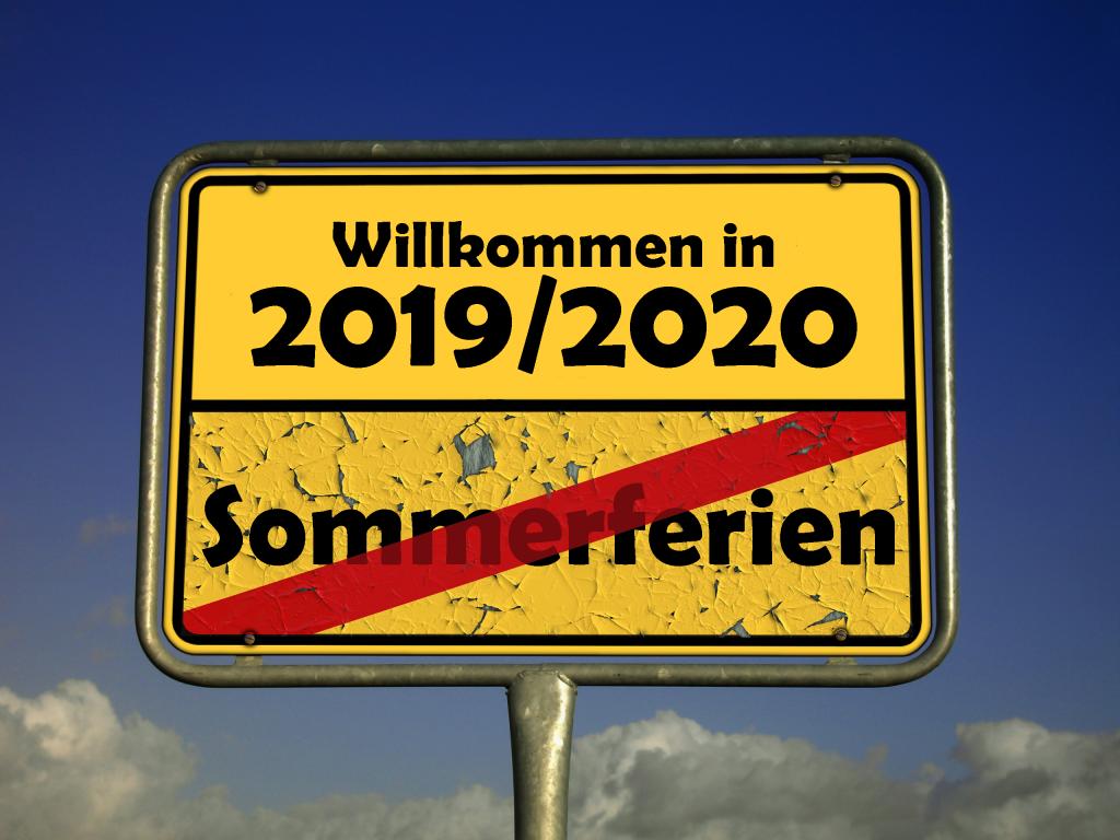Willkommen 2019/2020
